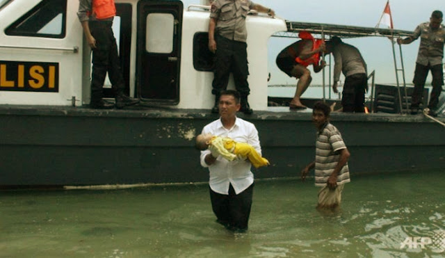 Kecelakaan Speed Boat TKI Ilegal Menuju Batam (2/11/2016)