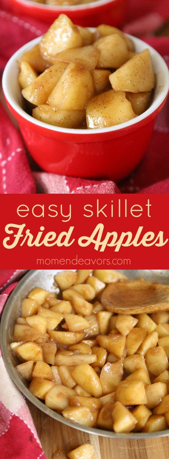 Easy Skillet Fried Apples