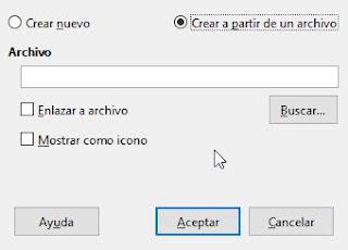 ibreOffice Writer - Insertar una hoja de cálculo de LibreOffice Calc en un documento de LibreOffice Writer