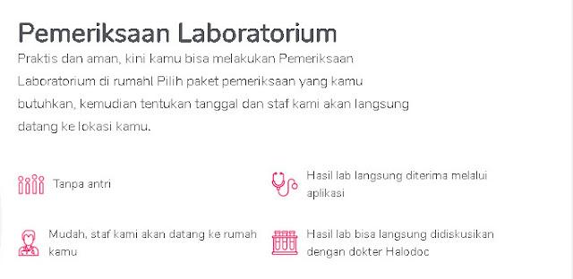 periksa laboratorium di Halodoc