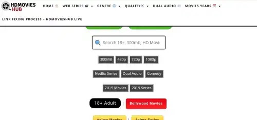 Hdmovieshub  2020 - 300mb Bollywood, Hollywood, Netflix Series free Download