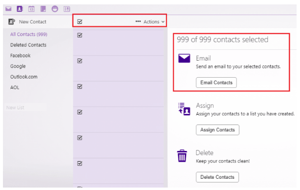 How to Export Facebook Contacts via Yahoo Mail