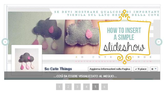 Blog design: inserire uno slideshow semplice nel nostro blog