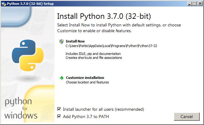 visual studio code python install pip