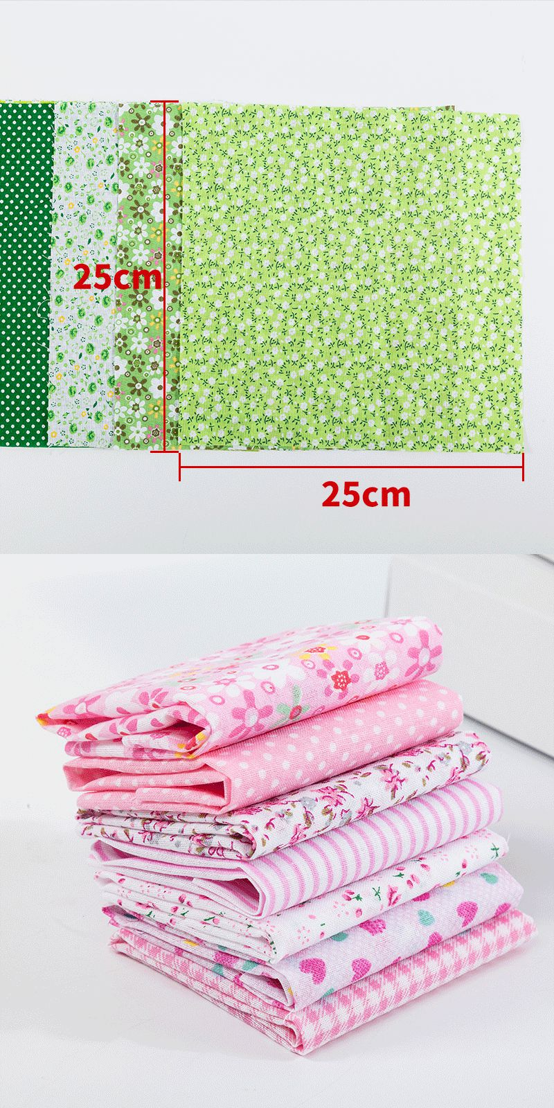 Cotton Fabric Printed Cloth Sewing Quilting Fabrics for Patchwork Needlework