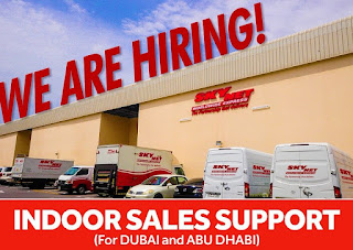Sales Person Job Recruitment In The Retail Outlet In Dubai
