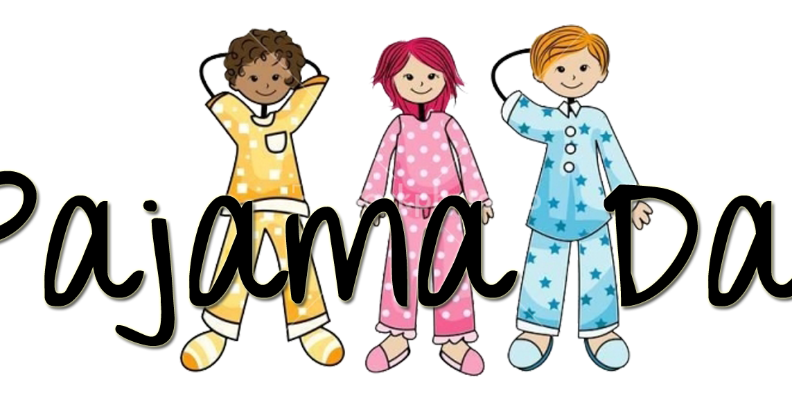 It's PJ Spirit day and Literacy Day January 27th!