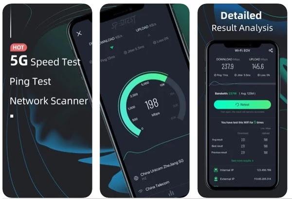 أفضل 10 تطبيقات لاختبار سرعة الواي فاي لأجهزة ايفون لسنة 2021