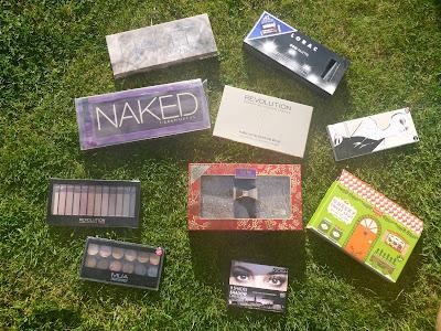 Declutter Part 1 - Makeup Palettes
