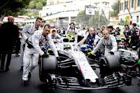 Sergey Sirotkin Grand Prix Monako 2018