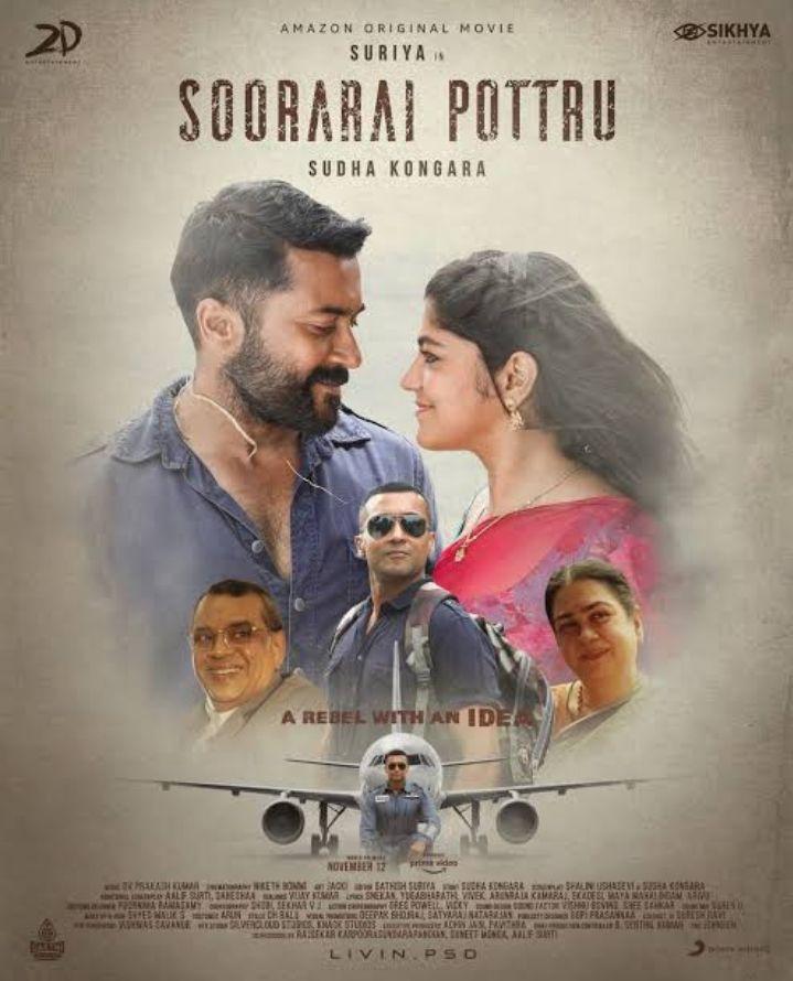 Soorarai Pottru Movie Download in Hindi Dubbed Filmyzilla
