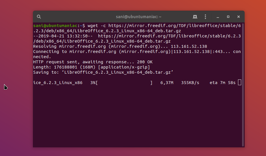 Install LibreOffice 6 2 3 on Ubuntu / Debian / Linux Mint