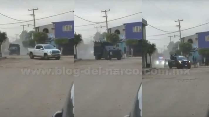 """Video Sin Confirmar; Llega el primer grupo de 200 Sicarios del CDS a Guanajuato en apoyo a """"El Marro"""" para sacar al CJNG de """"El Mencho"""" del estado,""""Puro Marro Putos"""" gritan los Sicarios"""