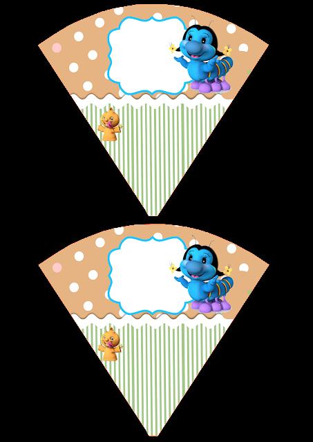 Mini Cones O Grilo Feliz