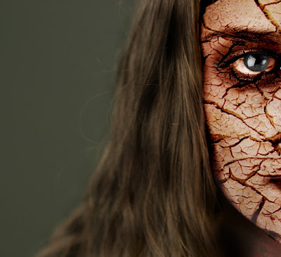 Texturas aplicadas en rostros con photoshop