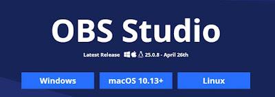 Langkah kedua download OBS