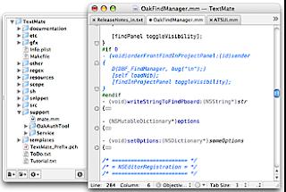 TextMate (Mac OS X, $)