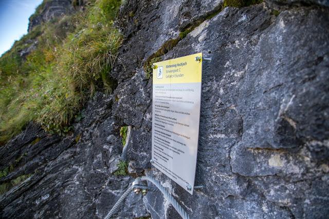 Klettersteiggehen für Anfänger – So gelingt dir der Einstieg! Klettersteig gehen - das ist wichtig für den Anfang 091