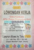 Lowongan Kerja Surabaya di Toko Smile Terbaru Desember 2019