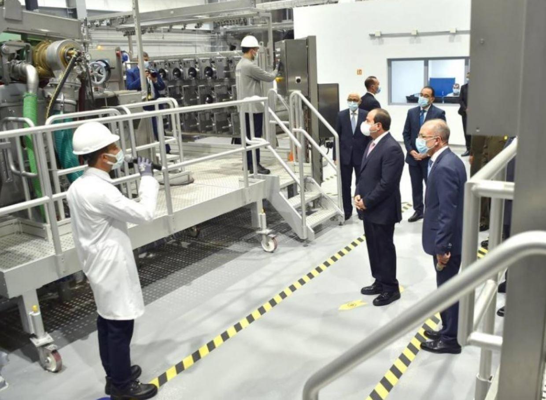 """مصر: مجموعة الابتكار الصناعية الإماراتية تدشن أعمال مجمع الإصدارات المؤمنة والذكية """"NASPS"""""""