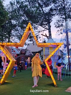 Spot foto favorit di Lembang Wonderland