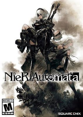 Capa do NieR: Automata