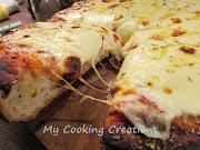 Дебела, хрупкава и лесна пица на парче ала Спонтини * Pizza al trancio tipo Spontini