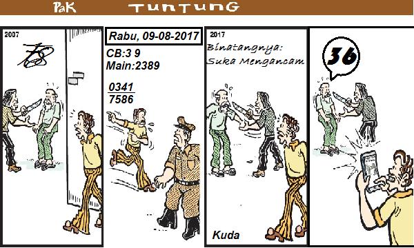 Prediksi Gambar Pak Tuntung Rabu 09 08 2017
