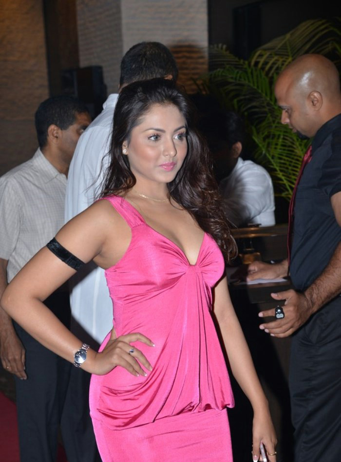 Madhu Shalini Latest Hot Cleavage Stills