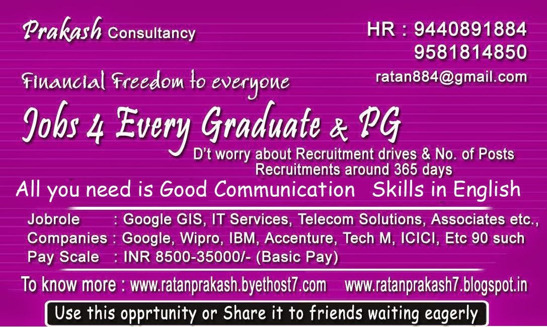 Genuine Job Openings For Every Graduate