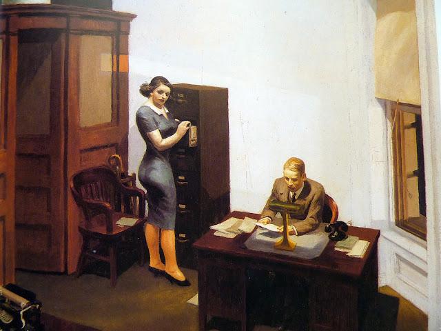Oficina de Noche, Hopper