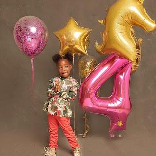 Imade Adeleke Is 4 Today