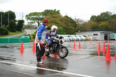 Aksi Ibnu Fachrizal di kompetisi The 20th Safety Japan Instructors Competition 2019