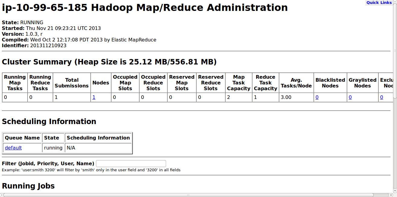 Big Data and Cloud Tips: Running a custom MR job on Amazon EMR