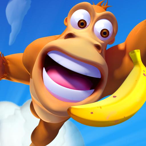 تحميل لعبه Banana Kong Blast مهكره وجاهزه