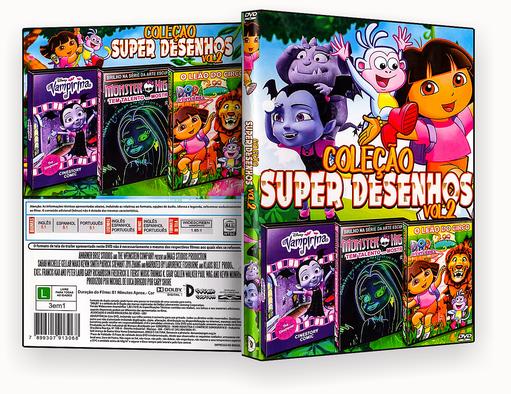 CAPA DVD – Coleção Super Desenhos Vol.2 – ISO