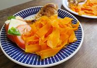macarrão cenoura
