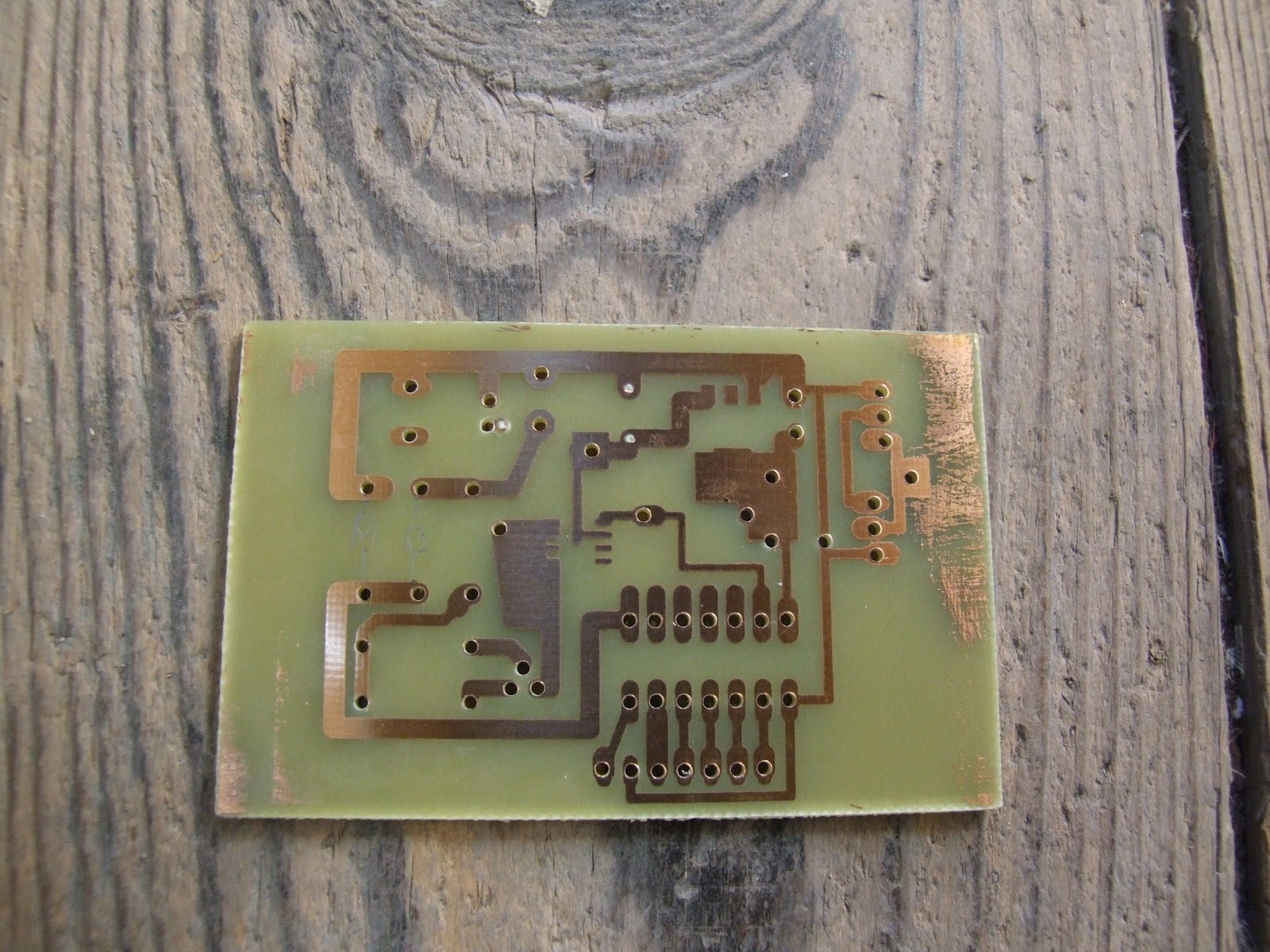 How To Etch A Circuit Board Avr Here Is My For The Poor Again Because You Dont Need Special Uv Lights No Etching Machine