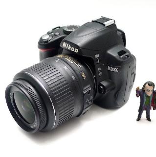Kamera Nikon D3000 Lensa Kit VR Bekas Di Malang