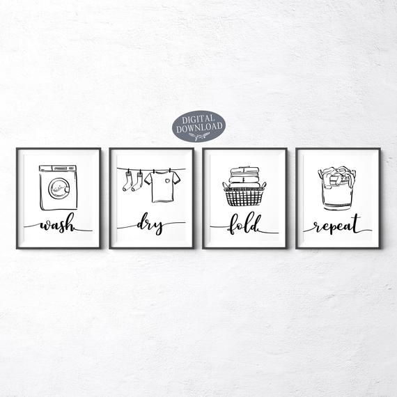 Laundry Room Design Board