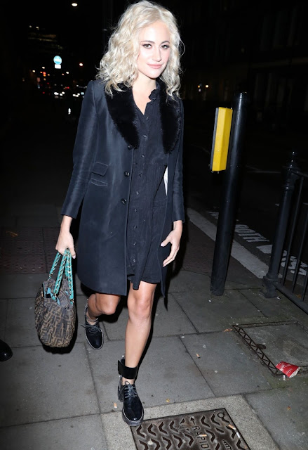 Pixie Lott Arrives at Tanqueray No Ten Gin Launch in London 5 Dec-2019