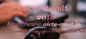AICTE CMAT Result 2018 | AICTE CMAT 2018 Result | AICTE CMAT Results 2018 | AICTE CMAT 2018 Results | AICTE CMAT Merit list 2018 | AICTE CMAT Score Card 2018  Download
