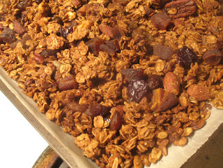 Homemade Fruit and Nut Maple Granola