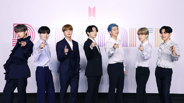 BTS Dynamite Wins Double-Platinum Award in United States