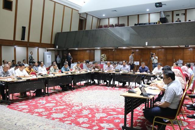 Pemprov DKI Jakarta dan Forkompinda Sepakat Minimalkan Persebaran Covid 19