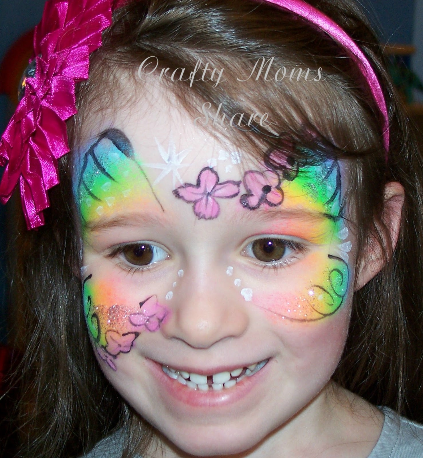 Crafty Moms Share: Face Painting, Pirate Birthday Party and