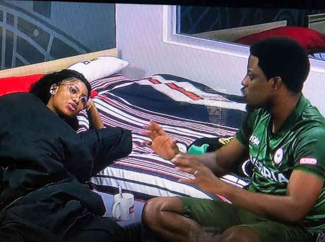 #BBNaija 2019: Video of Tacha & Seyi's dramatic fight in the Kitchen
