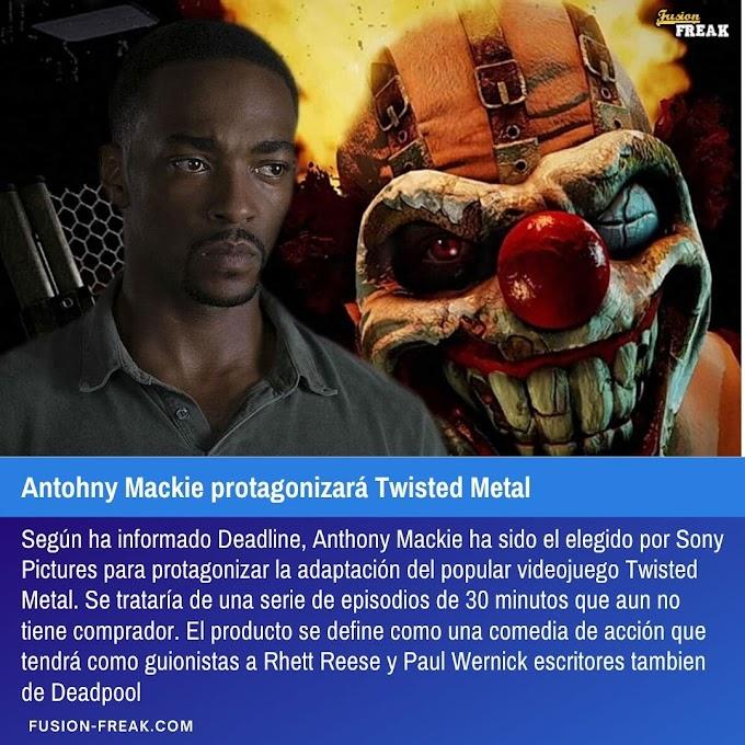 Antohny Mackie protagonizará Twisted Metal