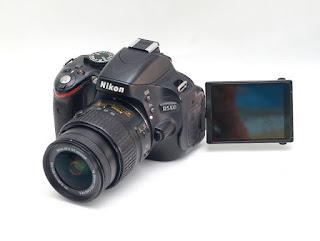 Jual Nikon D5100 Kamera DSLR Bekas