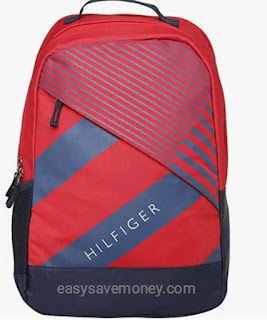 Brick Red 46 cm Laptop Bagpack of Tommy Hilfiger